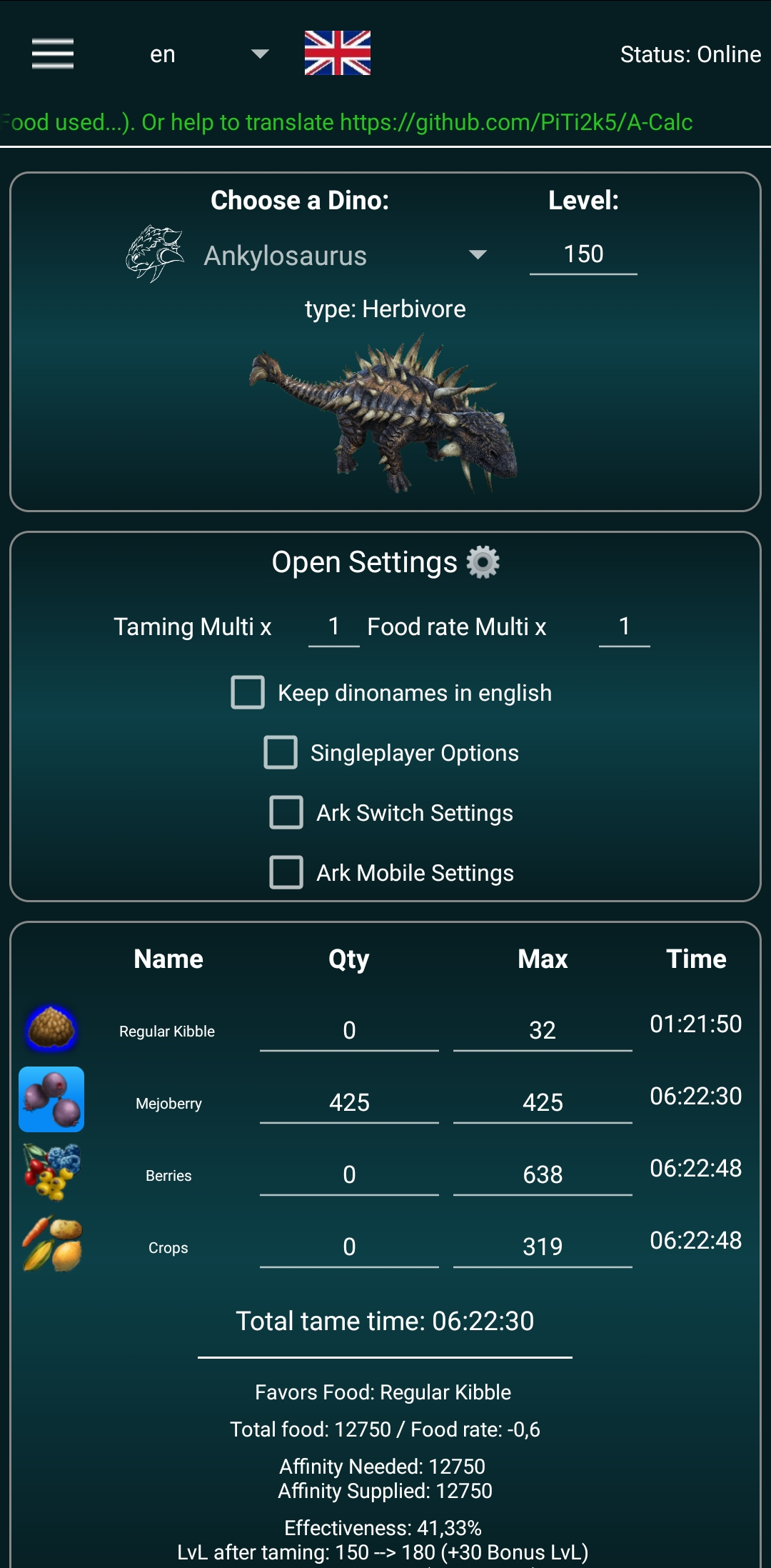 Screenshot Android A-Calc